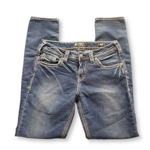 SILVER Boyfriend Joga Jeans Size 28/29
